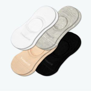 BOMBAS Lightweight No Shows 5-Pack NWT!